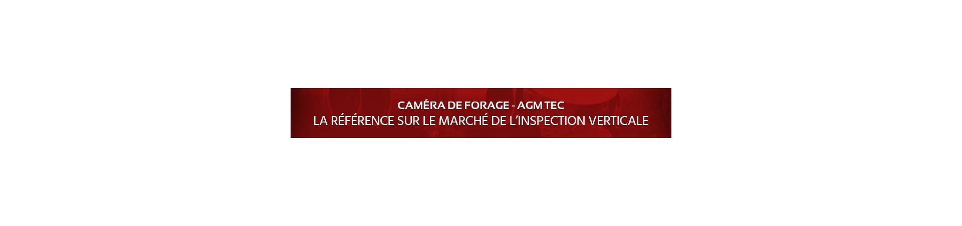 Caméras d'inspection de forage - Découvrez toutes les caméras d'inspection verticales disponibles chez AGM TEC - Fabricant de caméras d'inspection depuis 2004