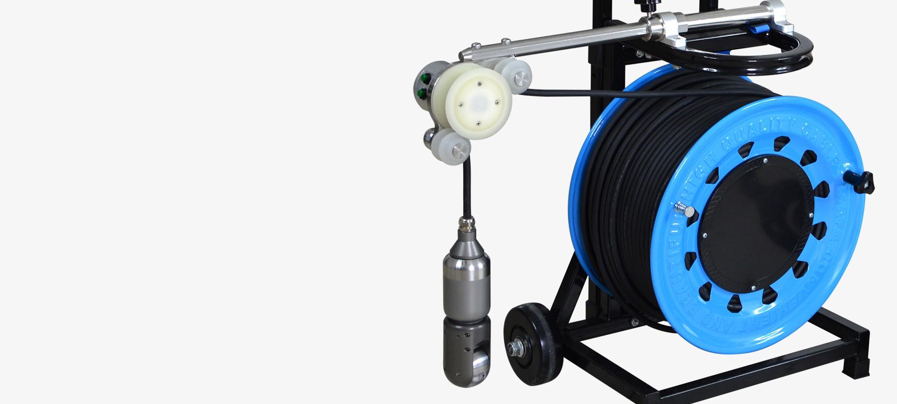 Caméra d'inspection verticale